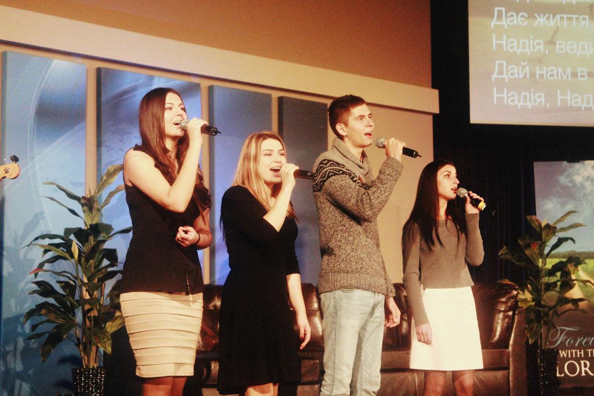 Дебютное служение молодёжи